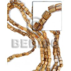 Palmwood Dice Natural 6 mm Wood Beads Dice and Sided Wood Beads BFJ065WB