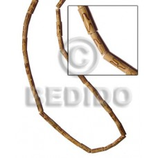 Bamboo Natural Burning Wood Beads Bamboo Wood Burning BFJ110WB
