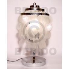 Capiz Shell Lamp White Capiz Shell Chandeliers BFJ019CC