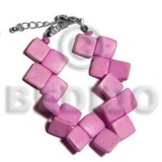 Coconut Banig Lavender Coconut Bracelets BFJ5091BR