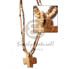 Coconut Pokalet Coconut Necklace BFJ352NK