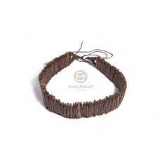 Coconut Stick Choker Coconut Necklace BFJ3039NK