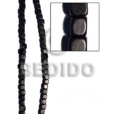 Kamagong Wood Black Dice 12 mm Wood Beads Dice and Sided Wood Beads BFJ243WB