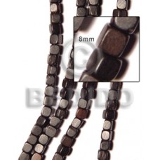 Kamagong Wood Dice 8 mm Tiger Wood Beads Dice and Sided Wood Beads BFJ009WB