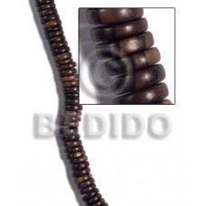 Kamagong Wood Pokalet 5 mm Tiger Beads Strands Brown Hardwood Ebony Tiger Wood Beads - Pokalet Wood