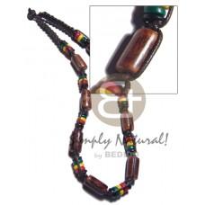 Macrame 7-8 mm Coconut Pokalet Rasta Sig-id Wood Wax Cord Unisex Reggae Rastafarian Accessory BFJ349
