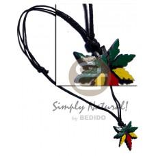 Marijuana Rasta Wax Cord 35 mm Unisex Reggae Rastafarian Accessory BFJ2422NK