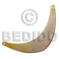 MOP Boomerang 105 mm Pendants - Shell Pendants BFJ5118P