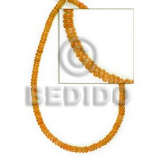 Orange Pokalet 4-5 mm Coconut Coco Pokalet Beads BFJ008PT_5