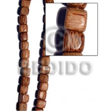 Palmwood 15 mm Dice Brown Wood Beads - Nuggets Wood Beads BFJ230WB