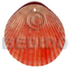 Piktin Shell Red Natural Pendants - Shell Pendants BFJ5107P