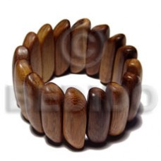Robles Wood Coated Bangles - Wooden Bangles BFJ216BL
