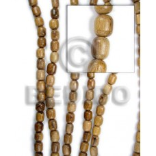 Robles Wood Oval 10 mm Brown Hardwood Wood Beads - Teardrop and Oval Wood Beads BFJ074WB