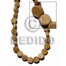 Robles Wood Pokalet 4 x 10 mm Brown Beads Strands Wood Beads - Pokalet Wood Beads BFJ405WB