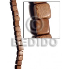 Rosewood Dice 12 mm Natural Wood Beads Dice and Sided Wood Beads BFJ195WB