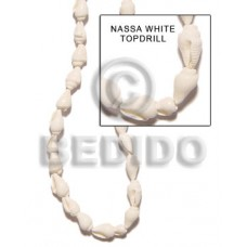 White 32 inches Nassa White Shell Shell Whole Shell Beads BFJ017SPS