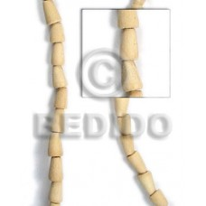 White Wood Teardrop 15 mm Natural White Wood Beads - Teardrop and Oval Wood Beads BFJ080WB