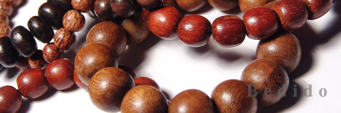 Teen Wood Beads Braceletes