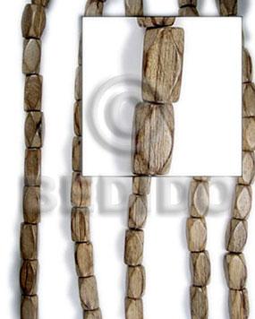 Graywood Diamond 20 mm Gray Beads Strands Wood Beads - Saucer and Diamond Wood Beads BFJ084WB