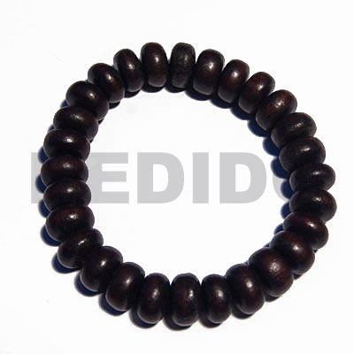 Kamagong Wood Ebony Tiger Elastic Hardwood Wood Bracelets BFJ5310BR